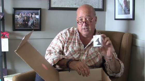 Barnacle in Andrew Zimmern Quarterly box