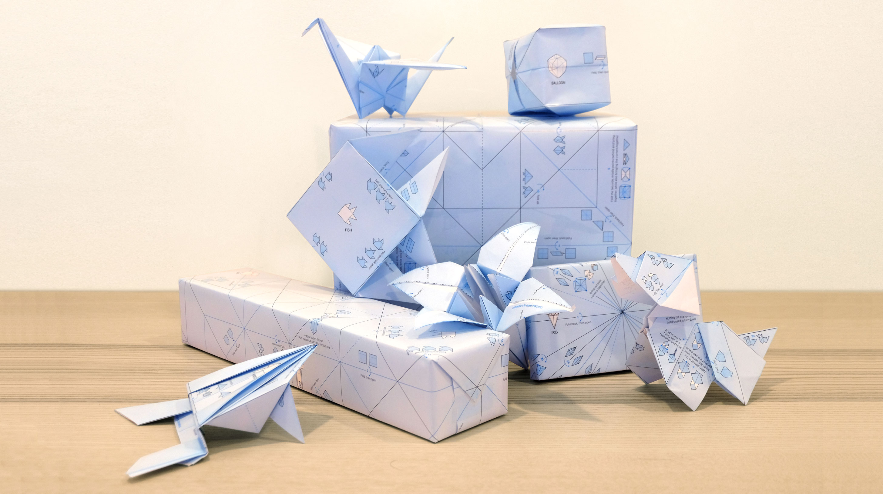 Origami Wrap Ilovehandles